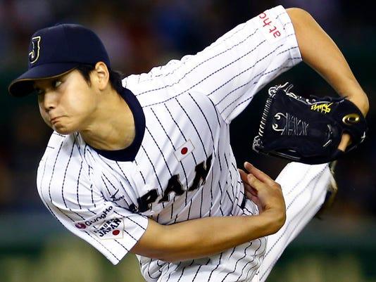 AP MLB-JAPAN-OHTANI BASEBALL S BBO FILE JPN