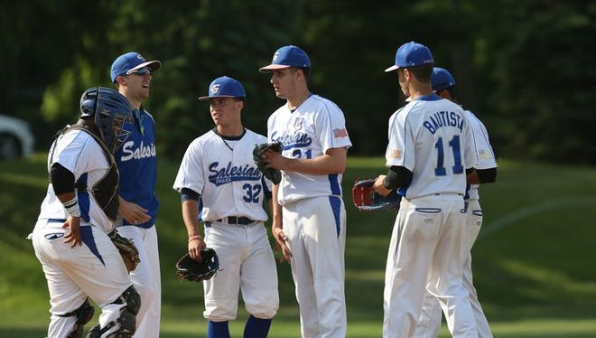 File photo of Salesian baseball from The Journal News.