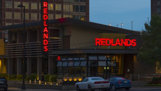 Redlands Grill offers the same menu items as J. Alexander's but with expanded options, including sushi and brunch.