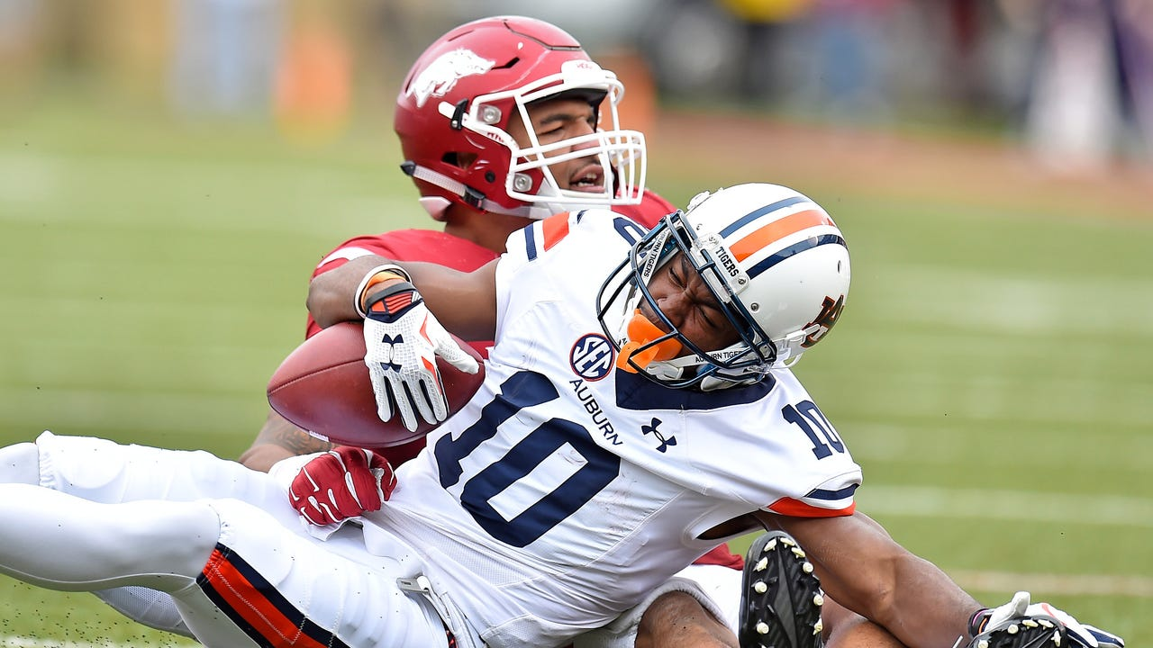 USA TODAY Sports' George Schroeder breaks down the five college football matchups to watch this week.