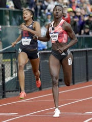 Former Southern Miss star Tori Bowie qualified for the Olympics in the Women's 100 and 200-meter races.