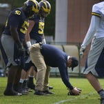 Michigan football's 1st practice in Rome was strange but productive