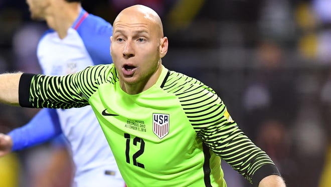 Brad Guzan gets the start for the U.S. on Tuesday against Costa Rica.