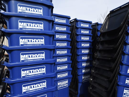 Methvin Sanitation's new garbage trucks will have automated