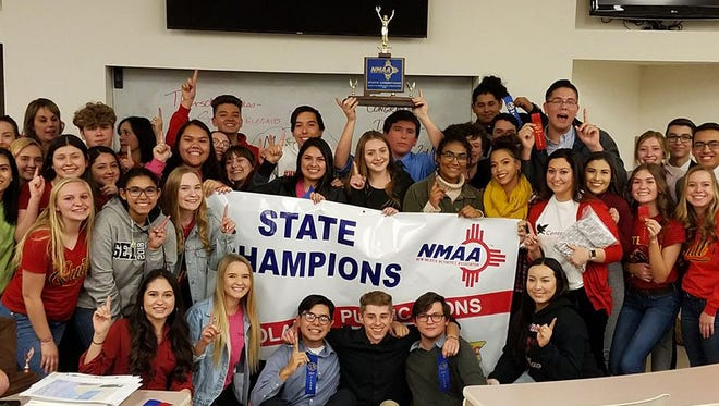 Centennial High School journalism and media students recently won state.