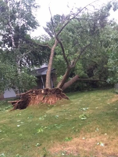 Central wisconsin storm damage from june 12 2017 for Courtesy motors stevens point