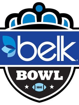 The 2014 Belk Bowl's logo.