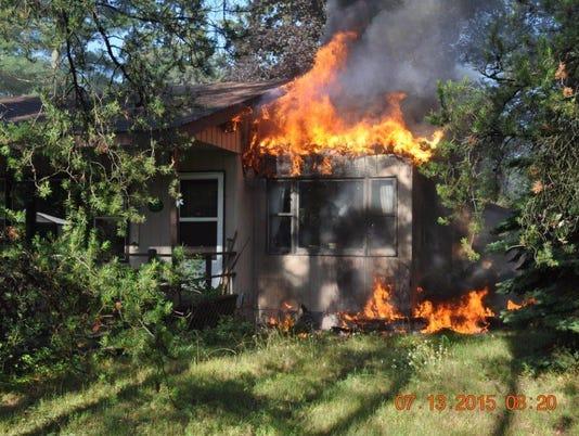 Rome house fire