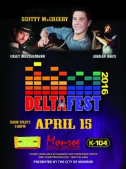 DeltaFest Country Music concert is Friday.