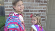 """""""The backpacks are ready. Prayers for all students & staff. Have a great year!"""""""
