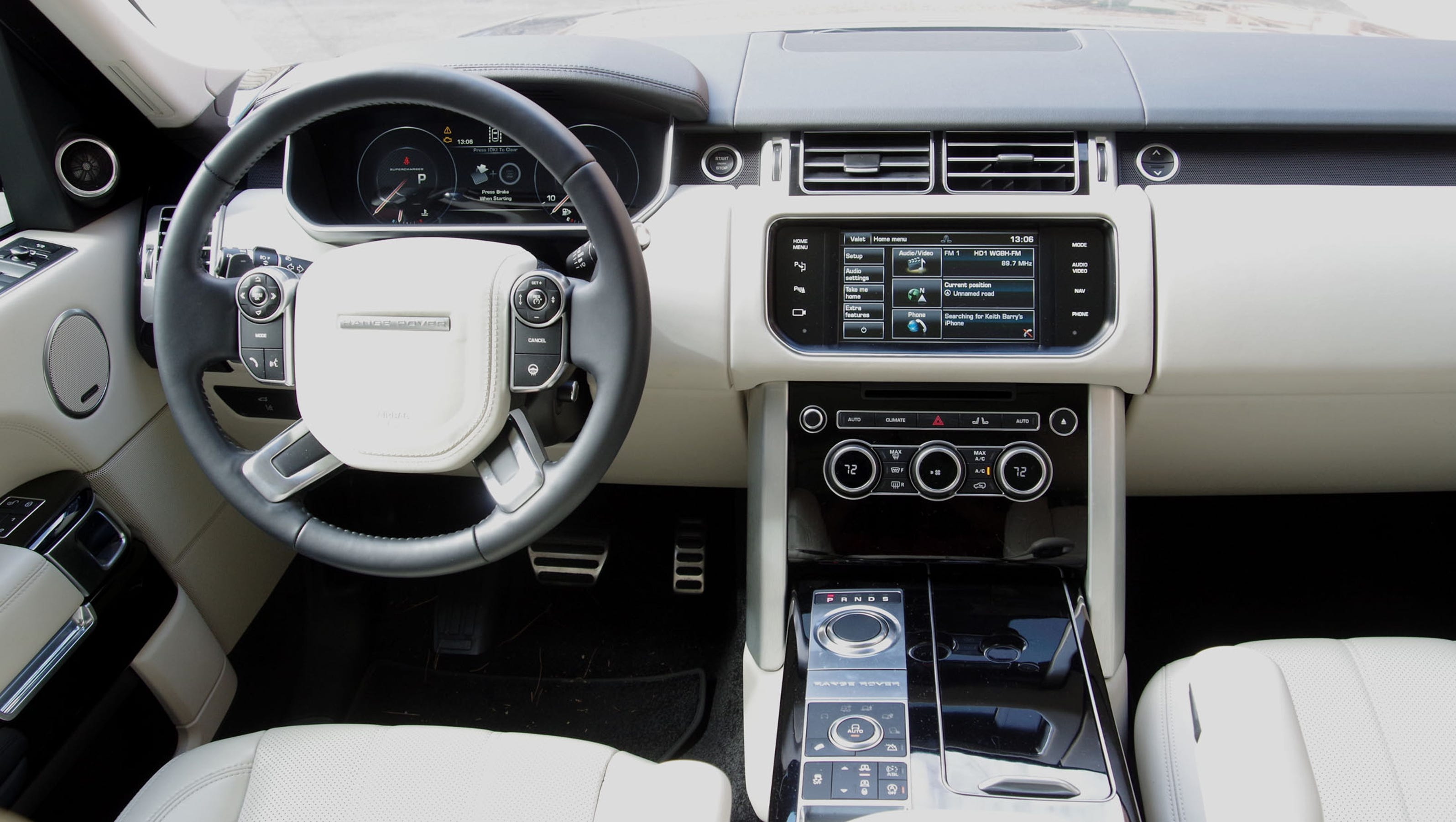 Roomy New Range Rover Is Best Enjoyed In The Back Seat