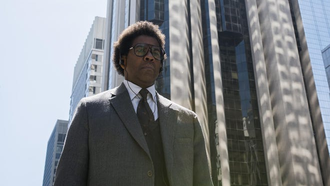 """Denzel Washington plays a quirky, morally conflicted lawyer in the crime drama """"Roman J. Israel, Esq."""""""