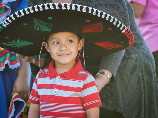 Celebrate Cinco de Mayo at Fountain Square, where the region's largest Latino cultural celebration takes place Saturday and Sunday.
