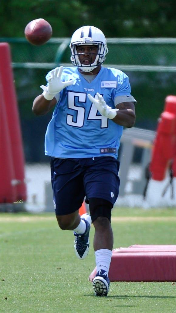 Titans rookie linebacker Avery Williamson