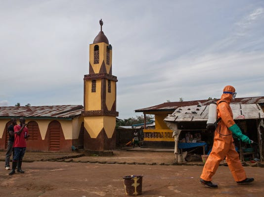 Sierra Leone: strike leaves Ebola dead in streets
