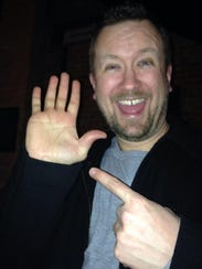 Brian Otten pledged to never wash the hand that was