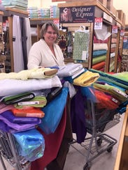 Costume Designer Donna Morris fills up two shopping