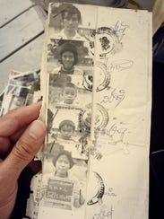 A photo shows Phanat Xanamane's family before they