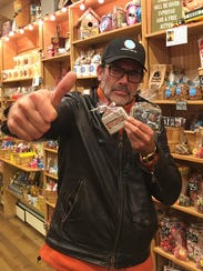 Actor Jeffrey Dean Morgan, a partner at Samuel's Sweet