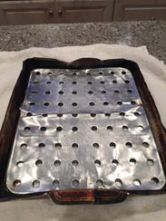 Christine Kyse still has her mom's baking pan