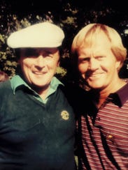An avid golfer, J.P. McCarthy would hit the links with