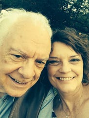 Cheryle Jenson and her father spend quality time together.