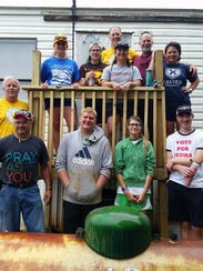 St. Michael Youth Mission workers and adult chaperones