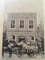 Undated photo of what is now The Colonial Tea Room