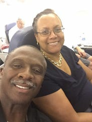 Bobby Butler and wife Cyrillyn have been married 36
