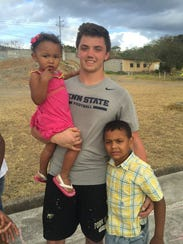 Linebacker Brandon Smith said mission trips to Honduras