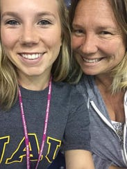 Amber Patterson (left) and her mother, Lisa Patterson,