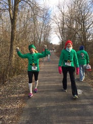 The Santa's Dash Away 5k will welcome runners and walkers
