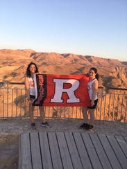 Two Rutgers students, Hanna Graifman and Melissa Gotlib,
