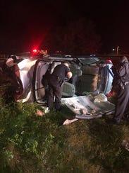 Titusville Fire Rescue responded to a crash involving