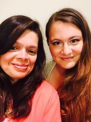 Sheboygan Press editor Leah Ulatowski and her mother