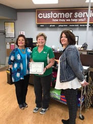 Fox's Piggly Wiggly was presented the Business Recognition