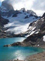Camping in Patagonia.