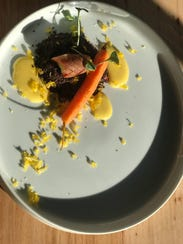 A dish from a previous Element pop-up dinner.