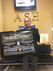 ASH coach Sons Pathoumthong is the All-Cenla girls