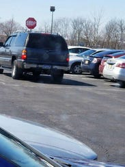 This is the SUV police say the car burglary suspect