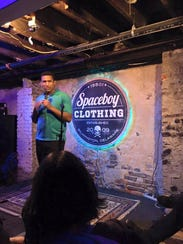 Wilmington comedian Brandon Vincent Jackson will headline