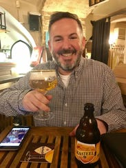 Michael Politz enjoying an Eastern European beer in