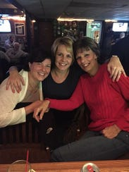 From left: Shelley Barker, Patty Juriga and Donna Barker