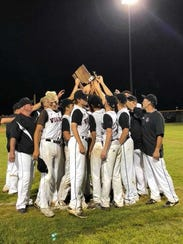 The North Posey baseball team won its first sectional
