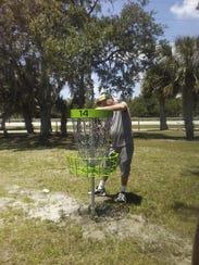 Treasure Coast Disc Golf Club member Mark Baldwin designed