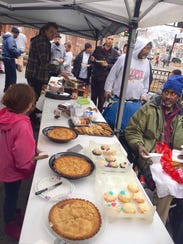 Potluck for the People is an event providing food,