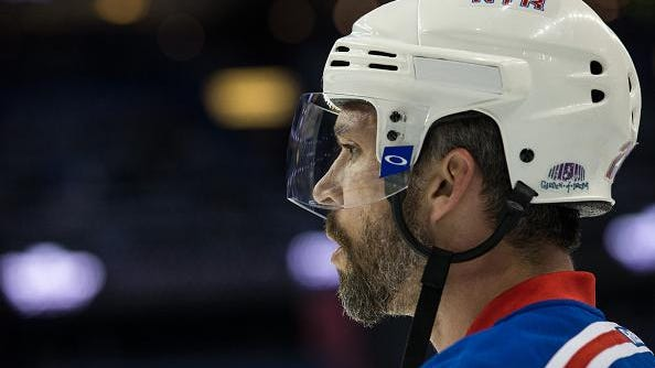 Former Rangers winger Martin St. Louis announced his retirement at age 40 on Thursday.