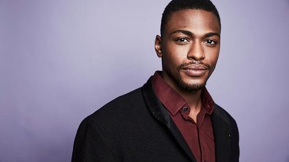 Justin Cornwell from CBS's 'Training Day' poses in the Getty Images Portrait Studio at the 2017 Winter Television Critics Association press tour at the Langham Hotel on January 9, 2017 in Pasadena, California.