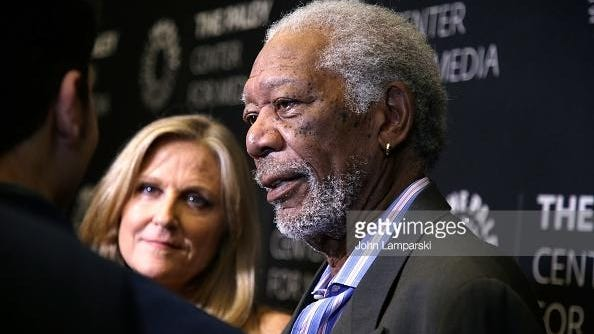 """Morgan Freeman, our consummate authority figure, hosts """"The Story Of Us."""""""