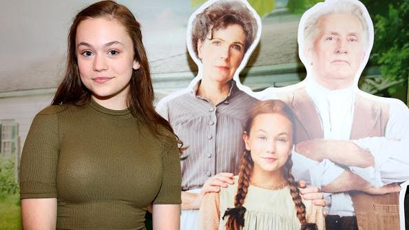 Actress Ella Ballentine of the television series 'Anne of Green Gables' attends the Academy of Canadian Cinema and Television's Family Fan Day 2017 at the Sony Centre For Performing Arts on March 11in Toronto.